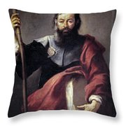 The Apostle Saint James Throw Pillow