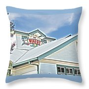 The Apple Barn Winery Pigeon Forge Tn Throw Pillow