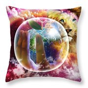 The Apple Of His Eye Throw Pillow