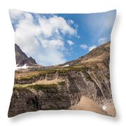 The Approach To Mount Reynolds Throw Pillow