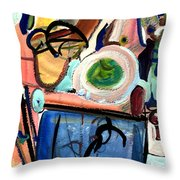 The Aquarium Throw Pillow