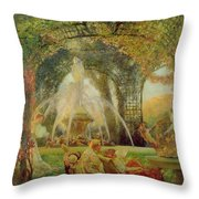The Arbor Throw Pillow