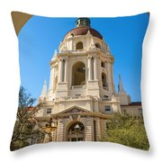 The Arch - Pasadena City Hall. Throw Pillow
