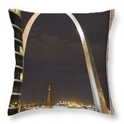 The Arch And Cathedral Throw Pillow
