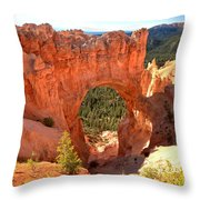 The Arch At Bryce Throw Pillow