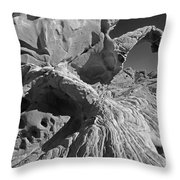 The Arch Bw Throw Pillow