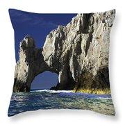The Arch Cabo San Lucas Throw Pillow