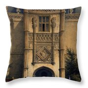 The Arch, Montacute House, Somerset Throw Pillow