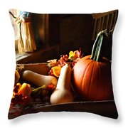 The Arrangement Throw Pillow