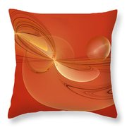 The Arrival 2 Throw Pillow