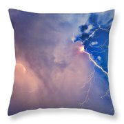 The Arrival Of Zeus Throw Pillow