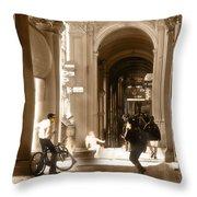The Art Of Love Italian Style Throw Pillow