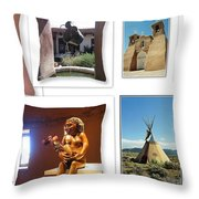 The Art Of New Mexico Throw Pillow