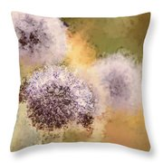 The Art Of Pollination Throw Pillow