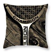 The Art Of Tennis 2 Throw Pillow