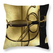 The Art Of The Sword Throw Pillow