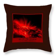 The Art Of The Universe 307 Throw Pillow