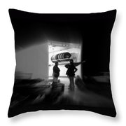 the Art of Waiting Throw Pillow