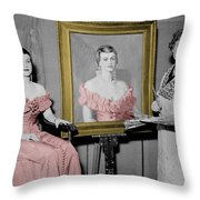 The Artist 2 Throw Pillow by Andrew Fare