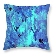 The Astronauts Of God 2011 Throw Pillow