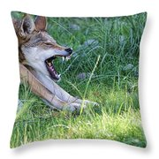 The Attack Throw Pillow