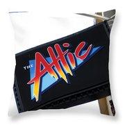 The Attic Myrtle Beach Sc Throw Pillow