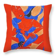 The Attraction Two Throw Pillow