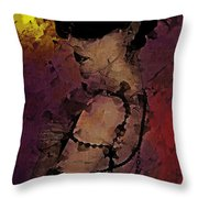 The Attrition Of Nothing  Throw Pillow