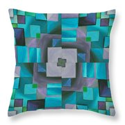 The August Rose Throw Pillow