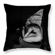 The Auspicious Squalor Of The Human Butterfly Throw Pillow