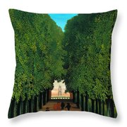 The Avenue In The Park At Saint Cloud    Throw Pillow