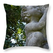 The Baby At Gibraltar 2 Throw Pillow