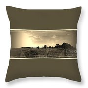 The Back Pasture Throw Pillow