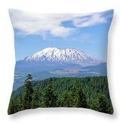 The Back Side Of Helens Throw Pillow