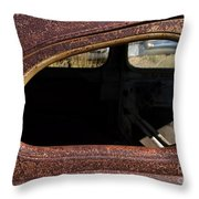 The Back Window Throw Pillow