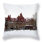 The Baldwin School Throw Pillow