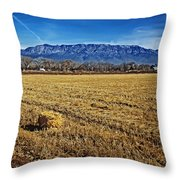 The Bale - Sandia Mountains - Albuquerque Throw Pillow