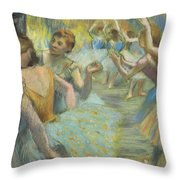 The Ballet Throw Pillow