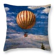 The Balloon Throw Pillow