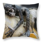 The Banana Dream Throw Pillow
