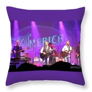 The Band America Throw Pillow