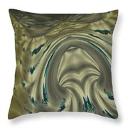 The Banded Chicken Throw Pillow
