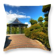 The Bandstand Throw Pillow