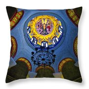The Baptistery Of Lydia Throw Pillow