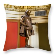 The Bard Throw Pillow