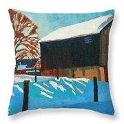 The Barnyard Throw Pillow