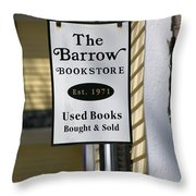 The Barrow Throw Pillow