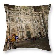 The Basilica Di Santa Maria Del Fiore  Throw Pillow