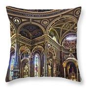 The Basilica Of St. Josaphat Throw Pillow