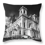 The Basilica Of St Mary Throw Pillow